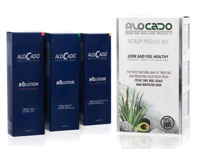 אלוקדו קיט ראש - Alocado Scalp Kit